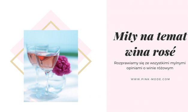 Mity o winach rosé