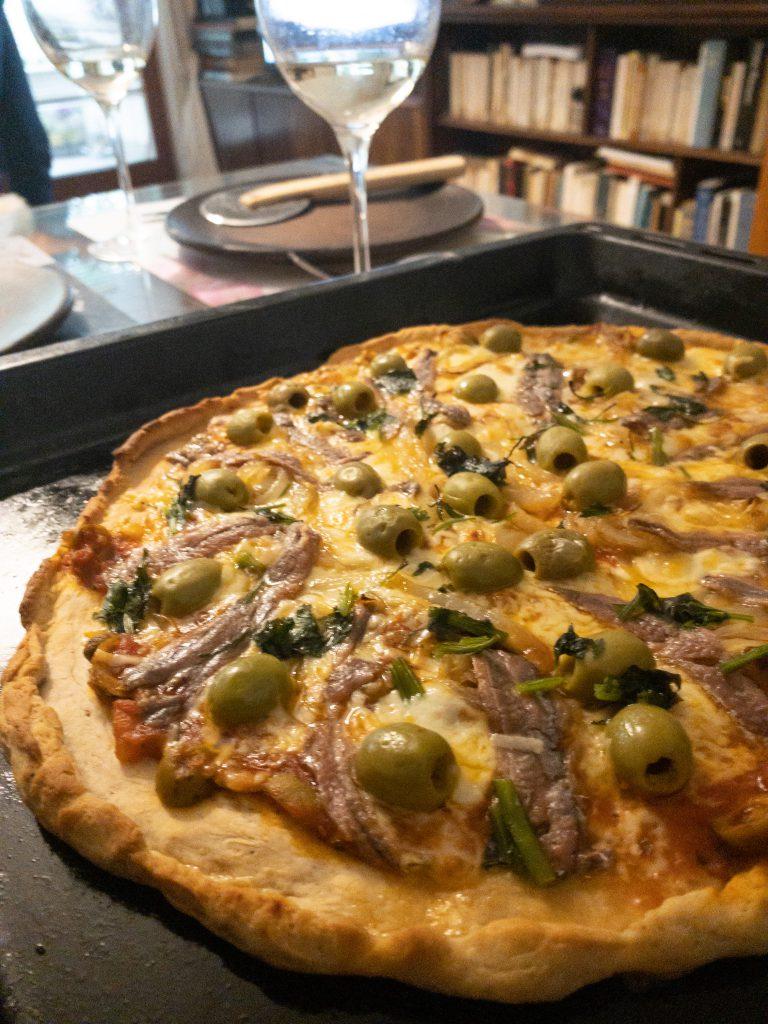 pizza z anchois