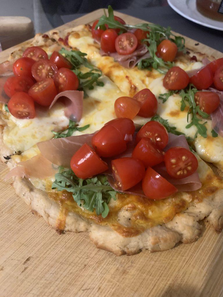 pizza i pomidorki