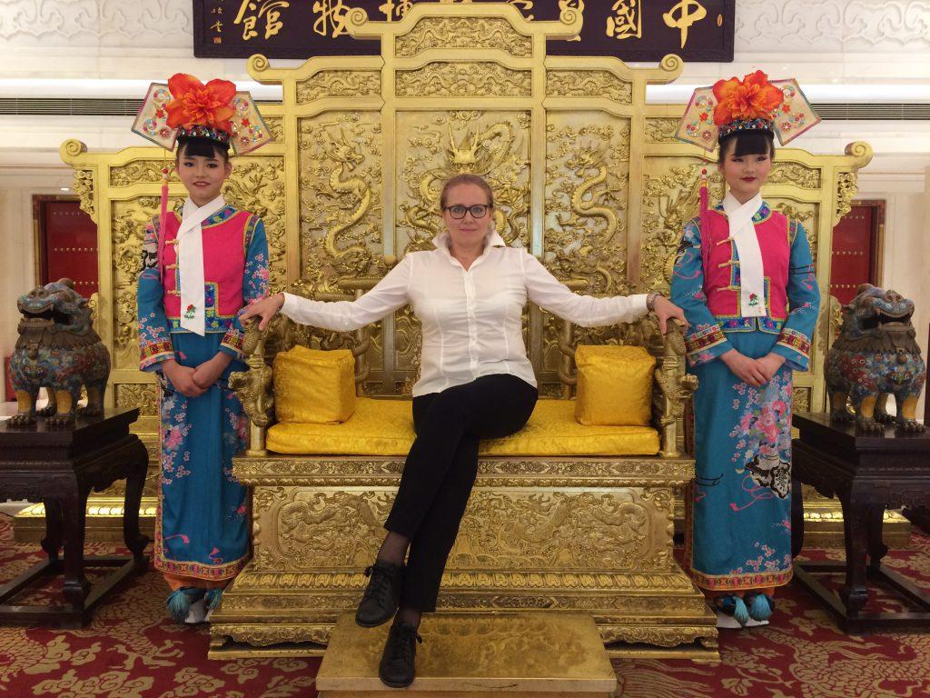 Ania Smolec w Chinach