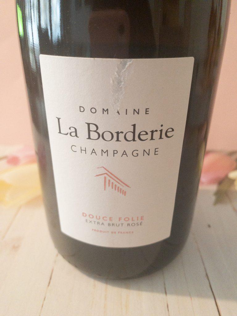 Wino Domaine La Borderie Champagne Douce Folie Extra Brut Rosé 2015