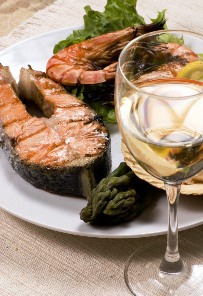 Chardonnay salmon